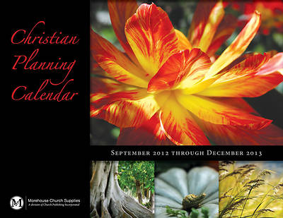 Picture of Christian Planning Calendar 2012-2013