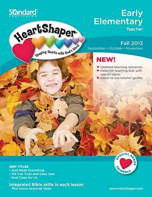 Standard HeartShaper Early Elementary Teacher Book Fall 2013