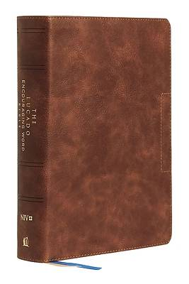 Picture of NIV Lucado Encouraging Word Bible, Brown, Leathersoft, Thumb Indexed, Comfort Print