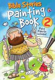 Bible Stories Painting Book 2 [With Paint]