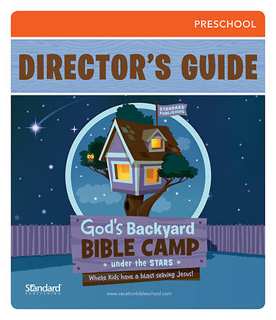 Standard Vacation Bible School 2013 Gods Backyard Bible Camp Stars PreSchool Directors Guide w/CD