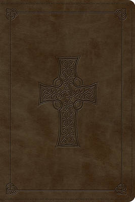 ESV Personal Reference Bible (Trutone, Olive, Celtic Cross Design)
