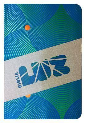 Picture of Rvc Biblia Luz, Remolinos de Azul/Verde Simil Piel