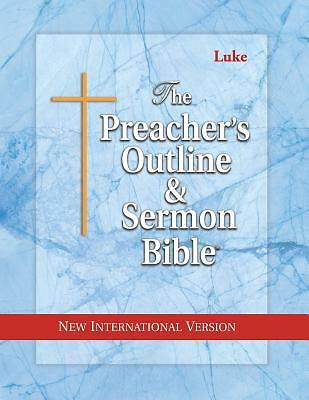Picture of Preacher's Outline & Sermon Bible-NIV-Luke