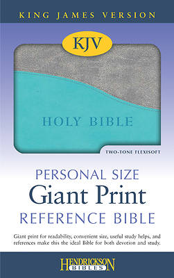 Picture of Personal Size Giant Print Reference Bible-KJV