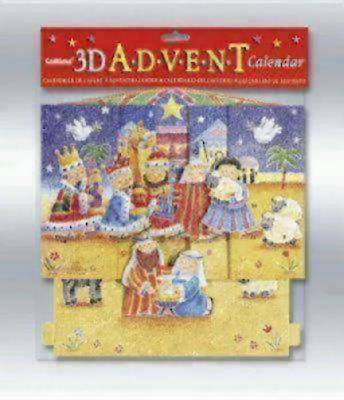 3-D Nativity Advent Calendar #CA579