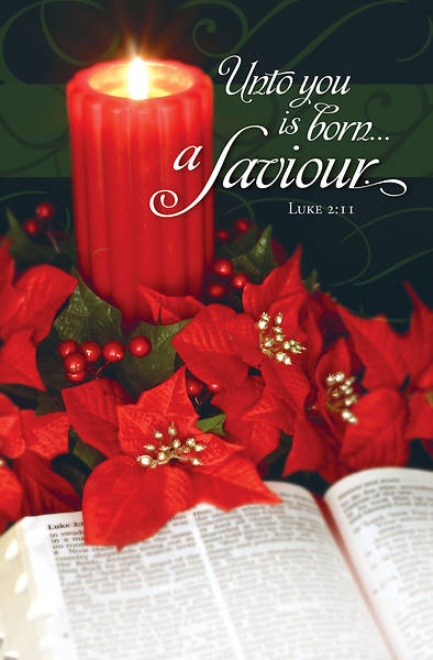 Picture of Unto You is Born a Saviour Christmas Regular Size Bulletin
