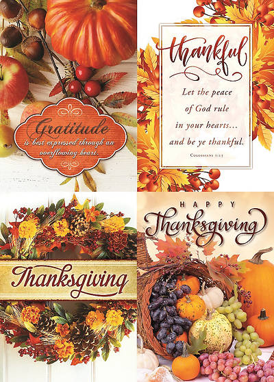 Grateful Harvest Thanksgiving Boxed Cards