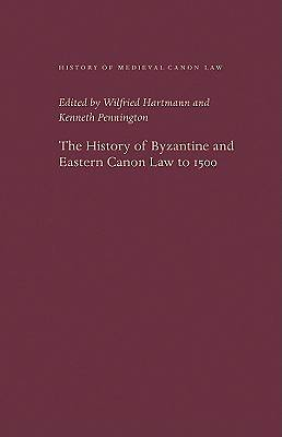 History of Byzantine and Eastern Canon Law