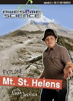 Explore Mount St. Helens with Noah Justice Study Guide & Workbook