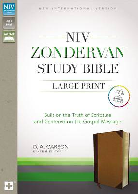 NIV Zondervan Study Bible, Large Print, Indexed