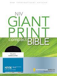 New International Version Giant Print Compact Bible