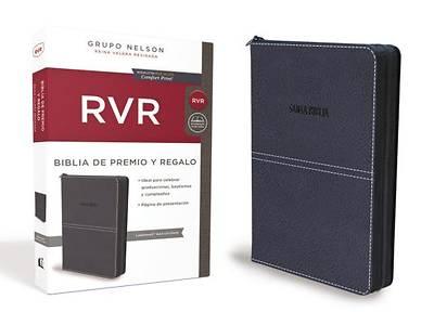 Picture of Biblia de Premio y Regalo Reina Valera Revisada, Leathersoft, Azul