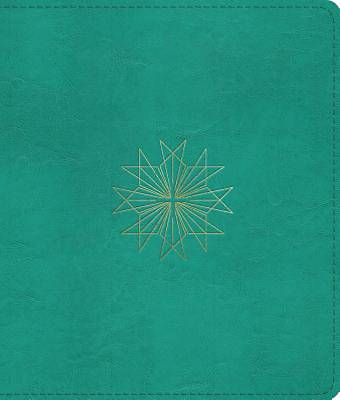 ESV Journaling Bible (Trutone, Teal, Resplendent Cross Design)