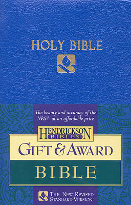 Gift & Award Bible NRSV (Blue)