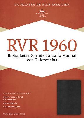 Picture of Rvr 1960 Biblia Letra Grande Tamano Manual, Negro Imitacion Piel