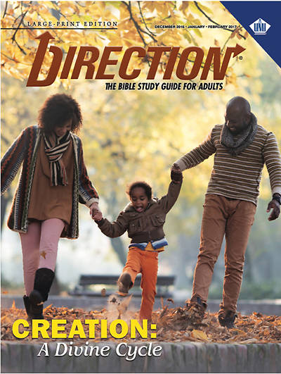 Picture of UMI Direction Large Print Student Manual Winter 2016-17