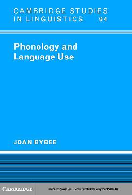 Phonology and Language Use [Adobe Ebook]