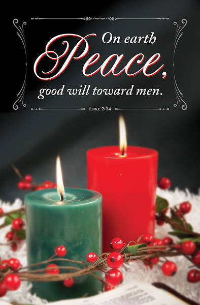 Picture of Good Will Christmas Regular Size Bulletin