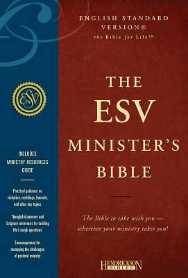 ESV Ministers Bible