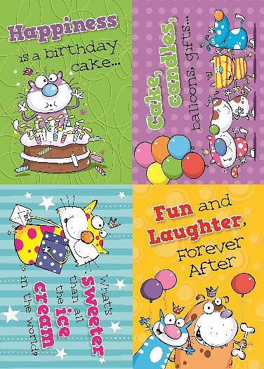 Picture of Birthday Buddies Boxed Cards