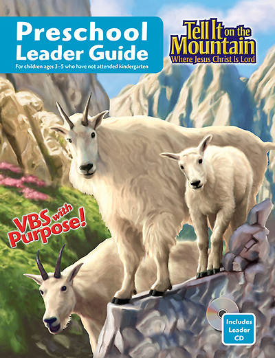 Concordia Vacation Bible School 2013 Tell It on the Mountain Preschool Leader Guide with CD
