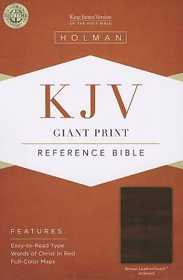 Picture of KJV Giant Print Reference Bible