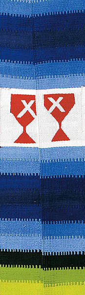 Guatemalan Multicolored Stole (Disciples of Christ)