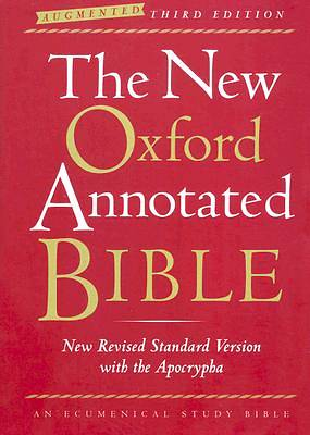 Bible New Revised Standard Version New Oxford Annotated