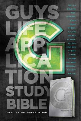 Picture of Guys Life Application Study Bible-NLT-Iridium