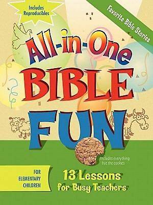 Picture of All-in-One Bible Fun for Elementary Children: Favorite Bible Stories