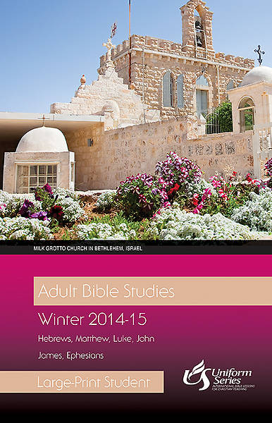 Adult Bible Studies Winter 2014-2015 Student - Large Print