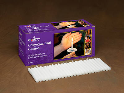 Picture of Congregational Candles - Box of 250
