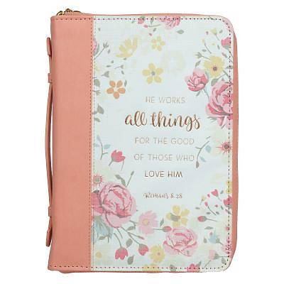 Picture of Bible Cover Large Luxleather All Things