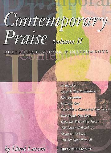 Contemporary Praise II Book