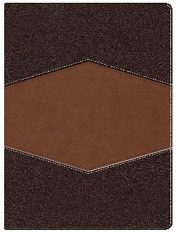 Picture of Rvr 1960 Biblia de Estudio Holman, Chocolate/Terracota, Simil Piel