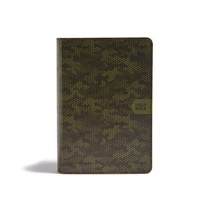 Picture of CSB On-The-Go Bible, Green Camouflage