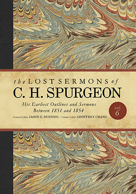 Picture of The Lost Sermons of C. H. Spurgeon Volume VI