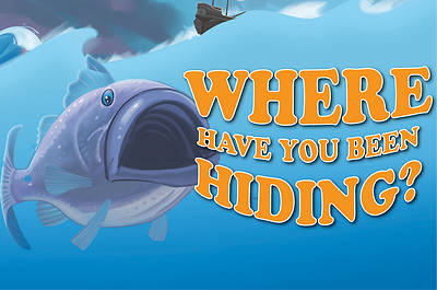 Picture of Bible Story Basics Where Have You Been Hiding Postcard (Pkg of 25)