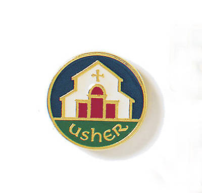 Picture of Lapel Usher Pin