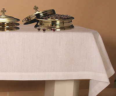 Pure Linen Plain Communion Table Cover - 50