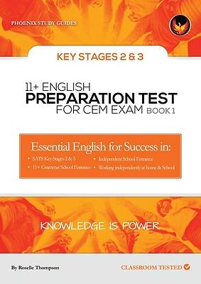 Picture of 11+ English Preparation Tests for the Cem Exam