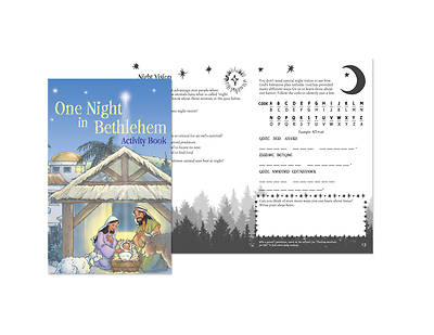 Picture of One Night in Bethlehem Activity Book