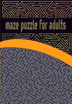 Picture of Maze puzzle for adults