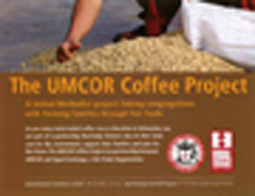 UMCOR Coffee Project Poster