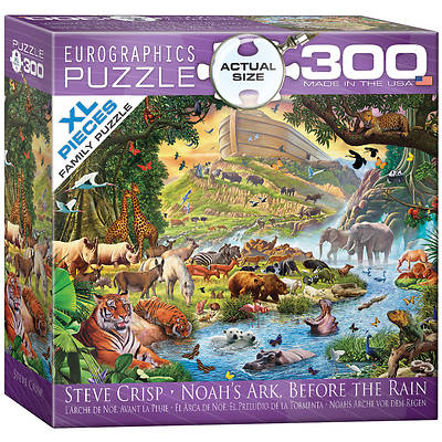Picture of Noah's Ark Before the Rain Puzzle 300 Pieces Steve Crisp