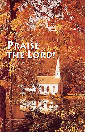 Picture of Fall/Praise the Lord Postcard (Package of 25)