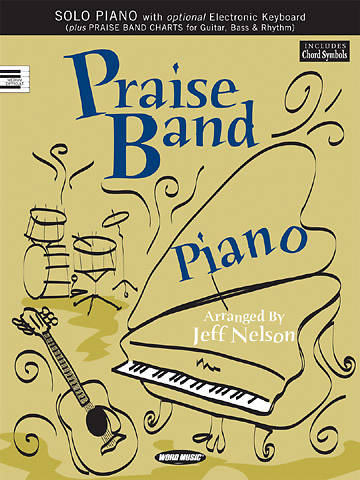 Praise Band Piano Solo Book with Praise Band Charts