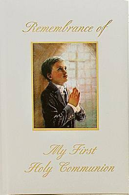 Remembrance of My First Holy Communion-Boy