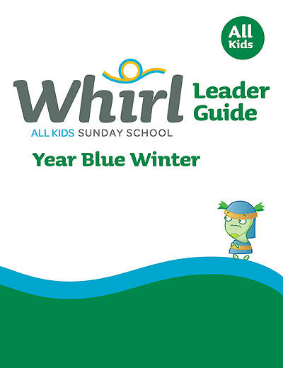 Picture of Whirl All Kids Leader Guide Year Blue Winter